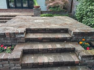 Brick walkway cleaning in Chico, CA